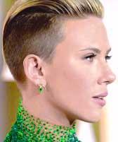 Female 'Short-Fade' bold like Scarlett-Jo!