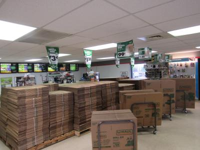 Moving Boxes at U-Haul Moving & Storage of Sierra Vista