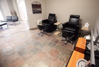 Pedicure - Manicure Room. Serene, relaxing and calming.