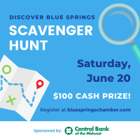 Discover Blue Springs Scavenger Hunt