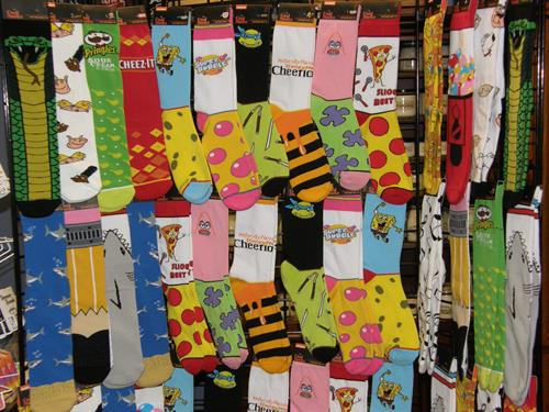 Crazy Socks, Candies and Gift Items