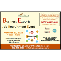 Olive Branch Chamber of Commerce Business Expo & Job Recruitment Event