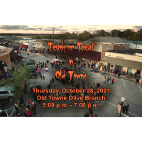 Trunk or Treat in Old Towne