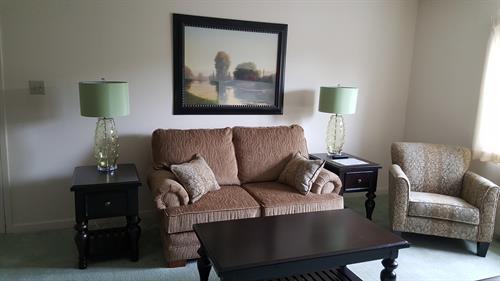 Furnished Resident Livingroom