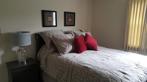 Furnished Resident Bedroom