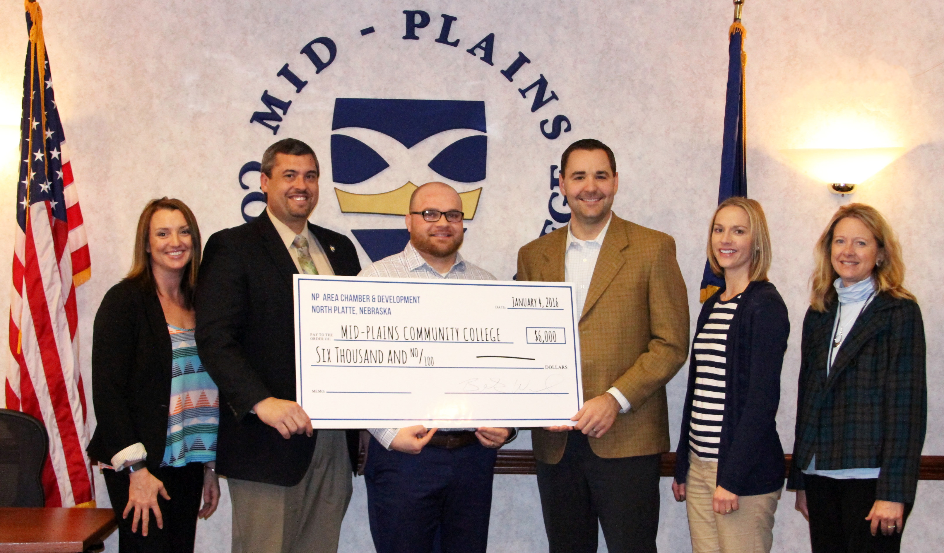 Image for NBDC office receives $6,000 from North Platte Chamber