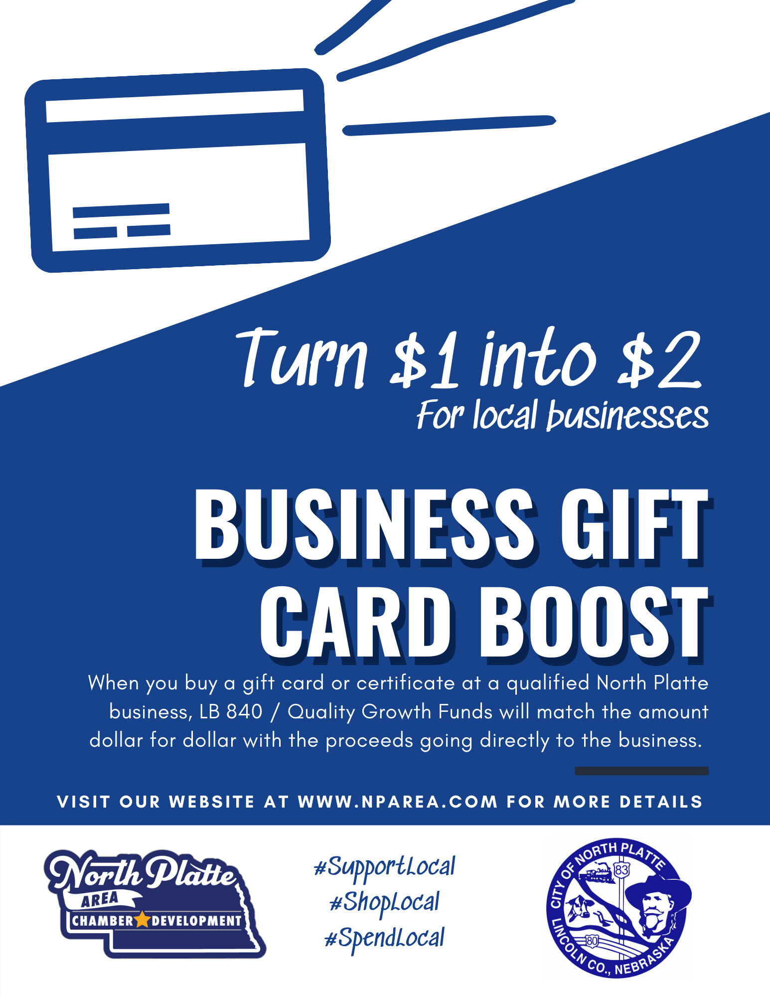 Business Gift Card Boost Program Approved