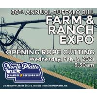 Ag Expo Rope Cutting