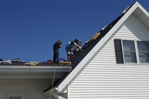 When it come to your roof - we're on top of it!