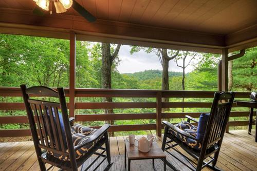 We have many cute and cozy private romantic cabins