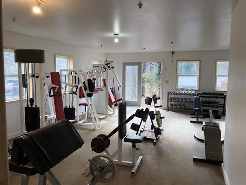 Isaiah House gym