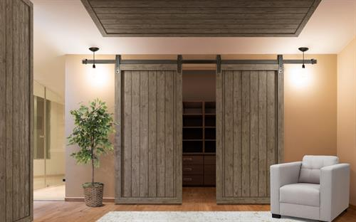 Shiplap & Edge Barn Doors