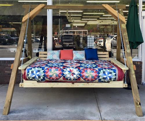 Porch Style Swing Bed