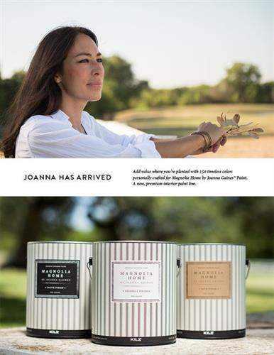 Magnolia Homes Paint by Joanna Gaines