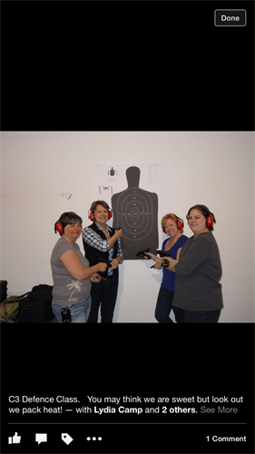 Women only basic marksmanship fundamentals course