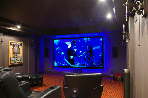 Custom screens and speaker systems