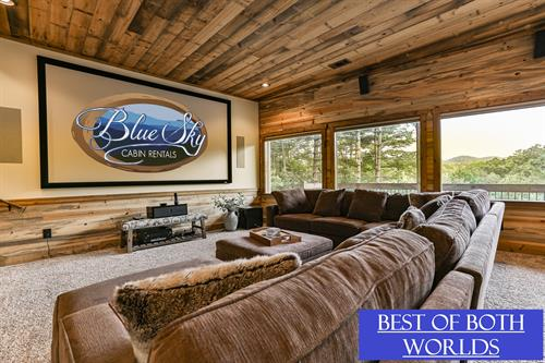4BR/4.5BA Ultra Luxury cabin on 9 acres. New to Blue Sky 8/15/19