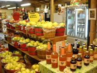 Apples, ciders, bread, pies, fritters, jams&jellies at the Red Apple Barn