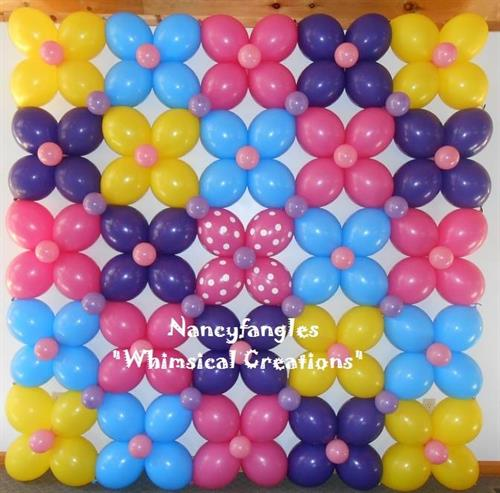 Balloon Wall ~ Photo Backdrop