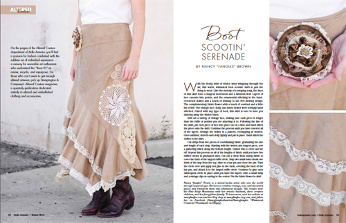 As Featured in Belle Armoire magazine