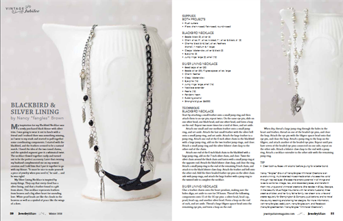 As Featured in Jewelry Affaire magazine