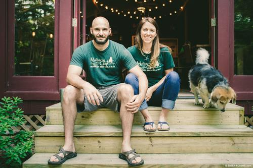 Owners Andrew and Kate Gates are excited to welcome you to Mulberry Gap
