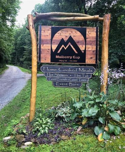 Welcome Home!  Mulberry Gap is a home in the trees for mountain bikers, hikers, backpacker, trail runners, and everyone who loves being outdoors!