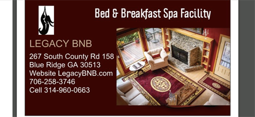 Bed and Breakfast with Spa Facilities