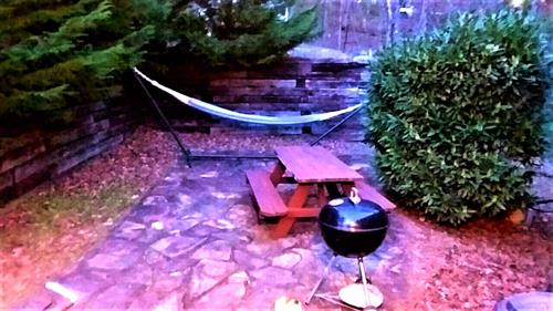 Spend Some Time Grilling Outside Or Relaxing In The Hammock!