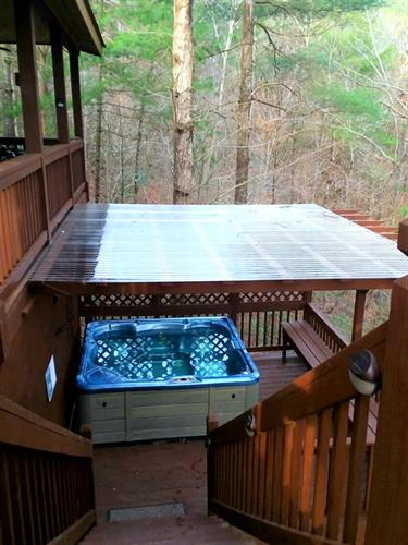 Enjoy The Hot Tub Year Round