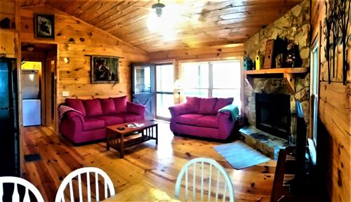 Cozy Up To The Fireplace Or Watch Some Movies!