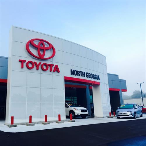 Visit us at North Georgia Toyota in Dalton, Ga.