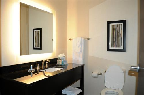 Wingate by Wyndham Loveland guest bathroom