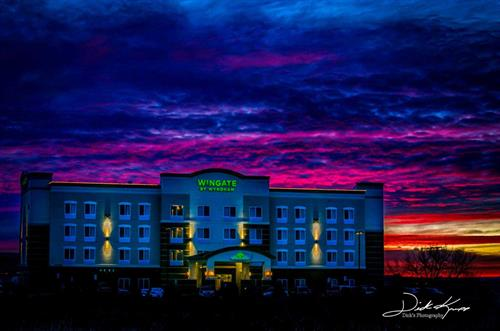 Wingate by Wyndham Loveland amazing sunsent