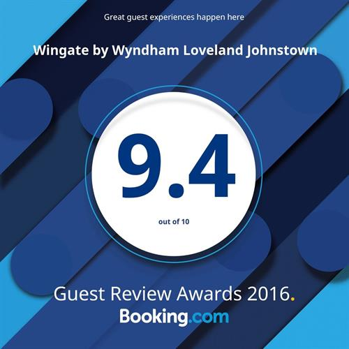 Wingate by Wyndham Loveland Booking.com guest review score
