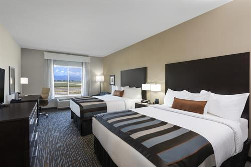 Wingate by Wyndham Loveland double queen room