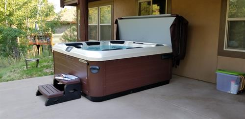 Hot Tub Power Install