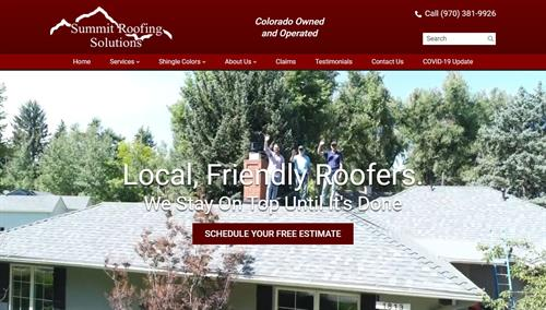 A website we developed for Summit Roofing Solutions, LLC. Skynet Drone Services filmed the aerial video that you see on the homepage.