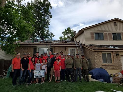 2019 Roof Donation Program