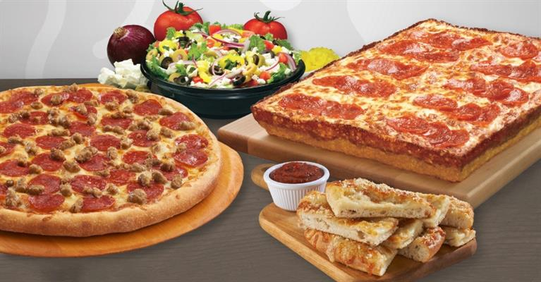 Blackjack Pizza and Salads