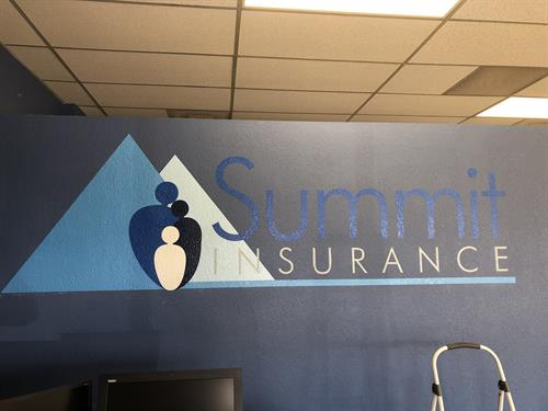 Allstate Summit Insurance Wall Decal
