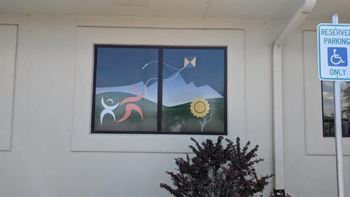 Inspiring Talkers Window Decals