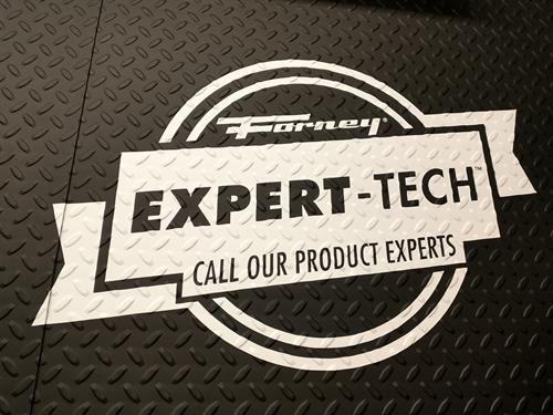 Forney Expert-Tech Decal