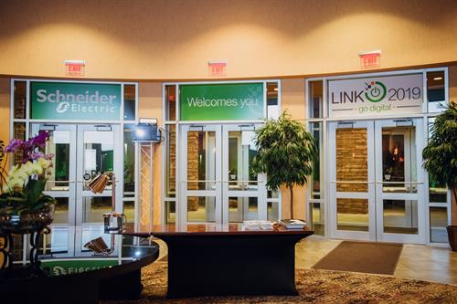 Convention branding of Embassy Suites for Telvent Schneider Electric