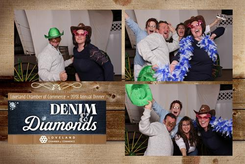 Fun at Denim and Diamonds!