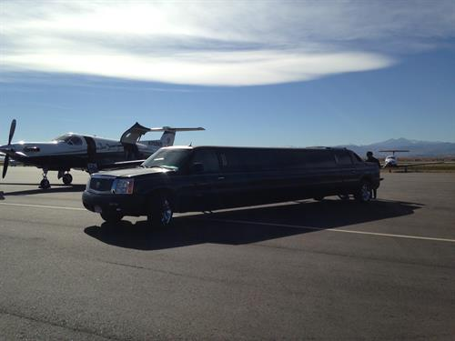 Majestic Prince at the Loveland Airport