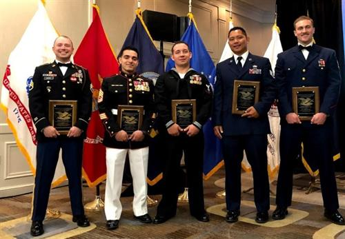 NCOA 2018 Vanguard Receipients