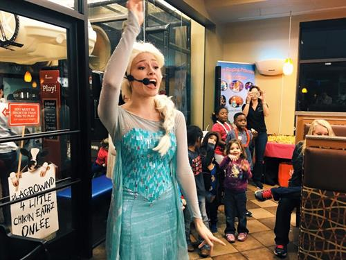 Regular princess appearances at Chick-fil-A Schertz