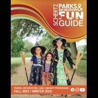 Schertz Park and Recreation Fun Guide - Fall 2021/Winter 2022