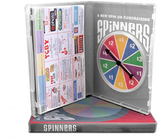 High Profit Spinners Fundraiser up to 97.6% Profit